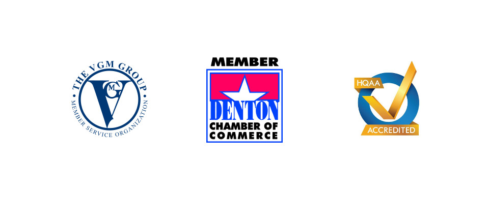 We are accredited and here to serve Denton County.