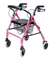 Pink Rollator